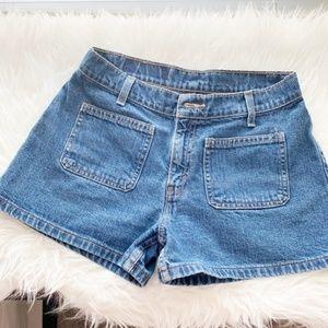 VINTAGE Levi Jean Shorts Juniors Size 7